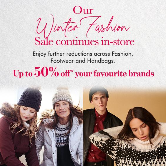Winter Fashion Sale Event